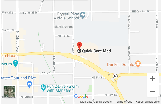 Urgent Care and Walk-In Clinic - Quick Med Care in Crystal River, Florida