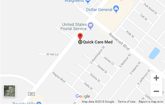 Urgent Care and Walk-In Clinic - Quick Med Care in Beverly Hills, Florida