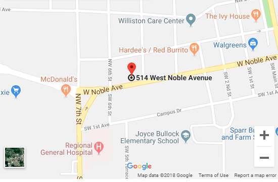 Williston Florida Map.Urgent Care Williston Walk In Clinic Quick Medical Care