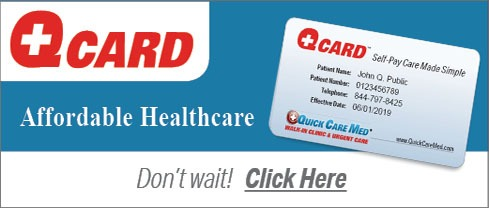 Quick Care Med | Urgent Care & Walk In ClinicQuick Care Med