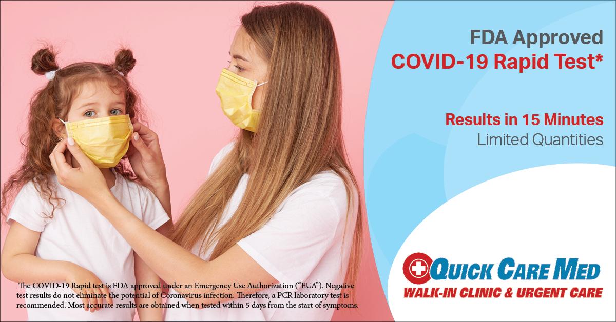 QCM Rapid Testing COVID